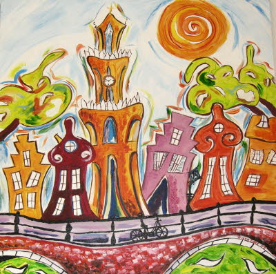 20110901_Stadt bei Tag_acryl
